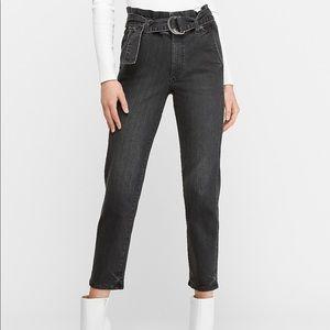 Express paperbag jeans